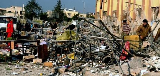 La Siria in fiamme, il rogo del sapere